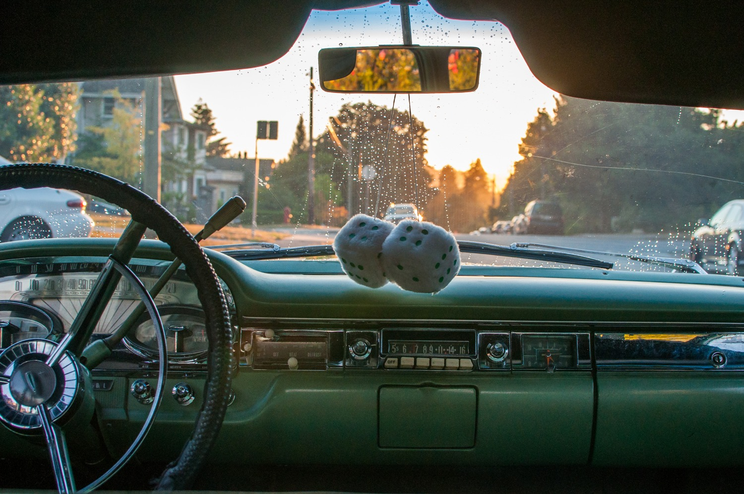 1959 Edsel Dash Interior