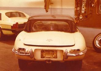 "1966 """"e"""" type Roadster Restoration 1"