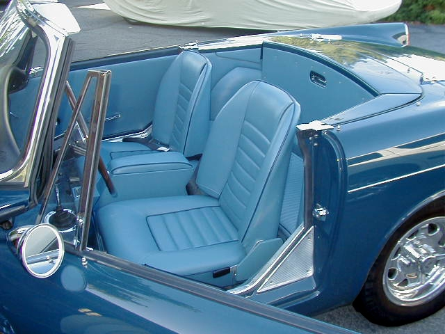 Sunbeam TIger Interior