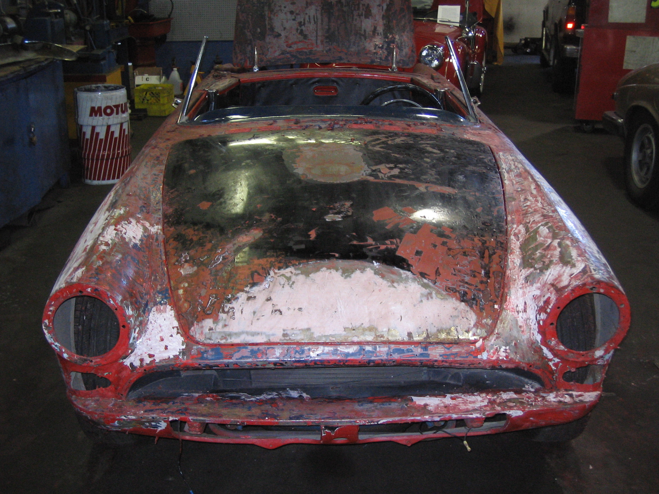 Sunbeam TIger Body