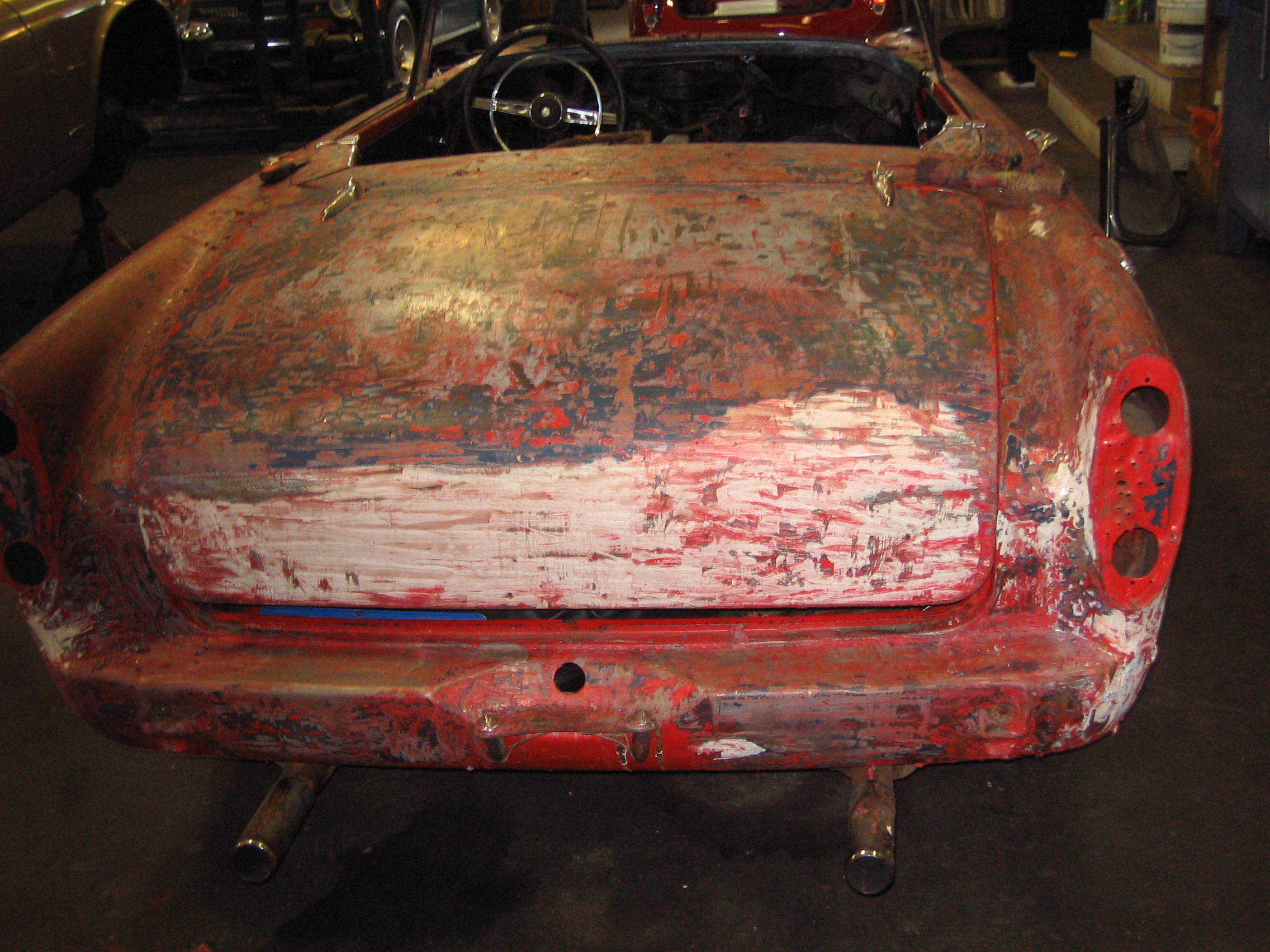 Sunbeam TIger Body 2