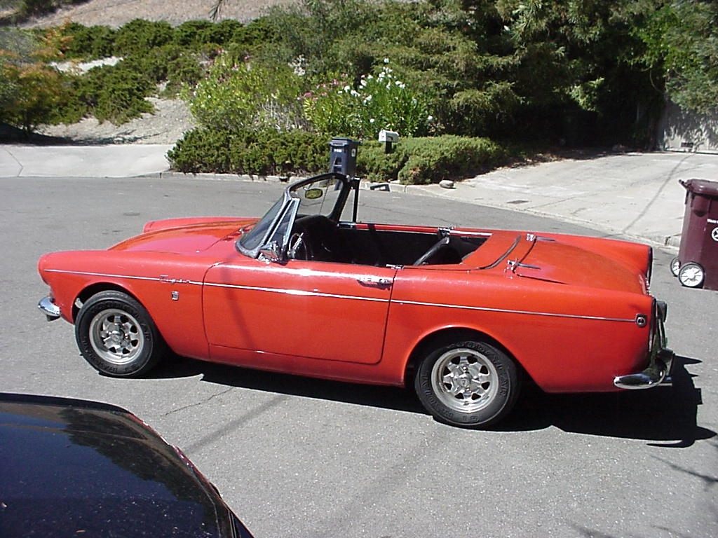 1965 Sunbeam Tiger Restoration 1