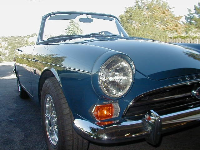 1966 sunbeam tiger resto bmc