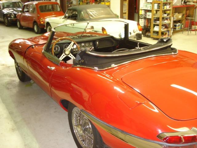 1963 jaguar e type rdstr resto