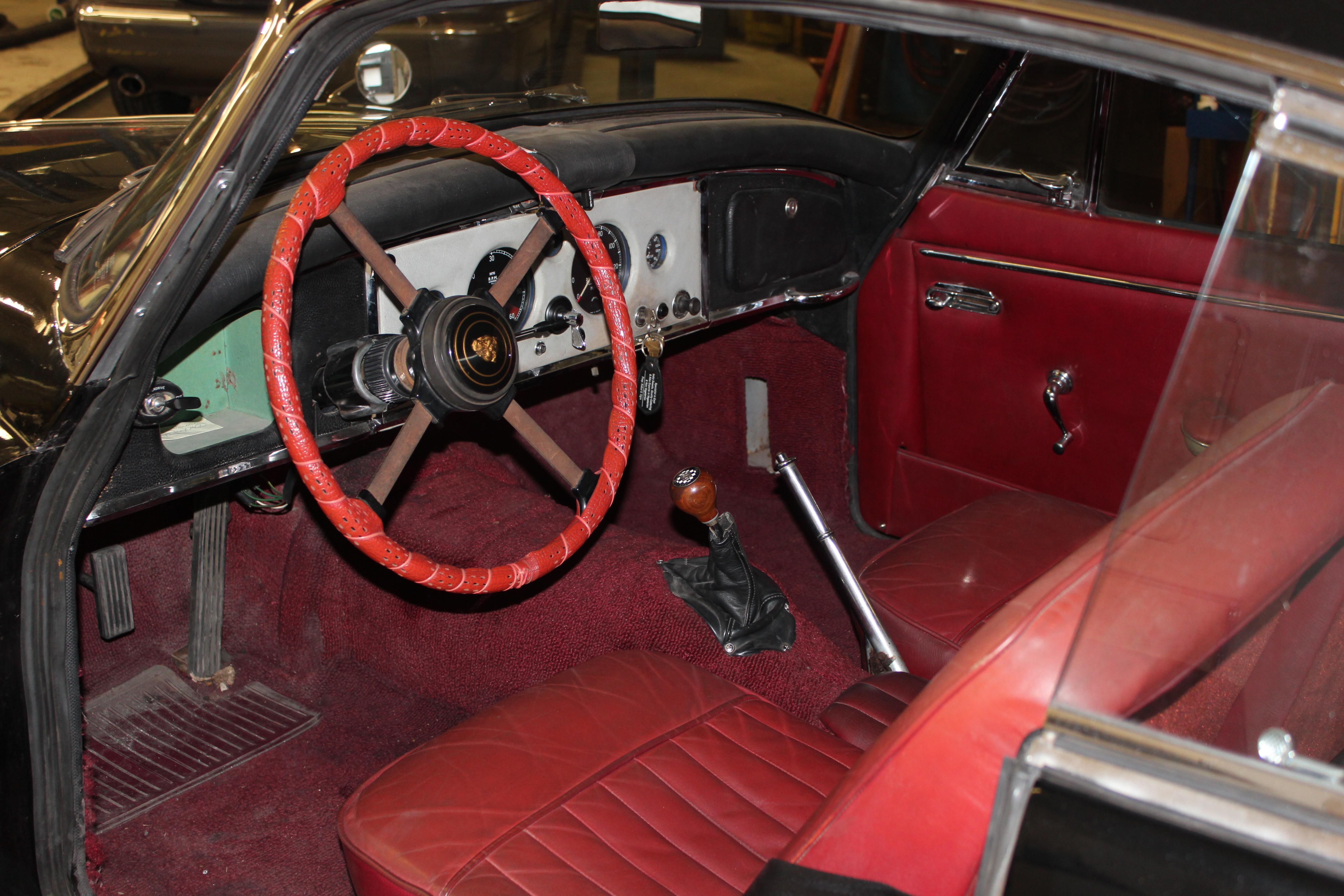 1960 jaguar xk150 fhc