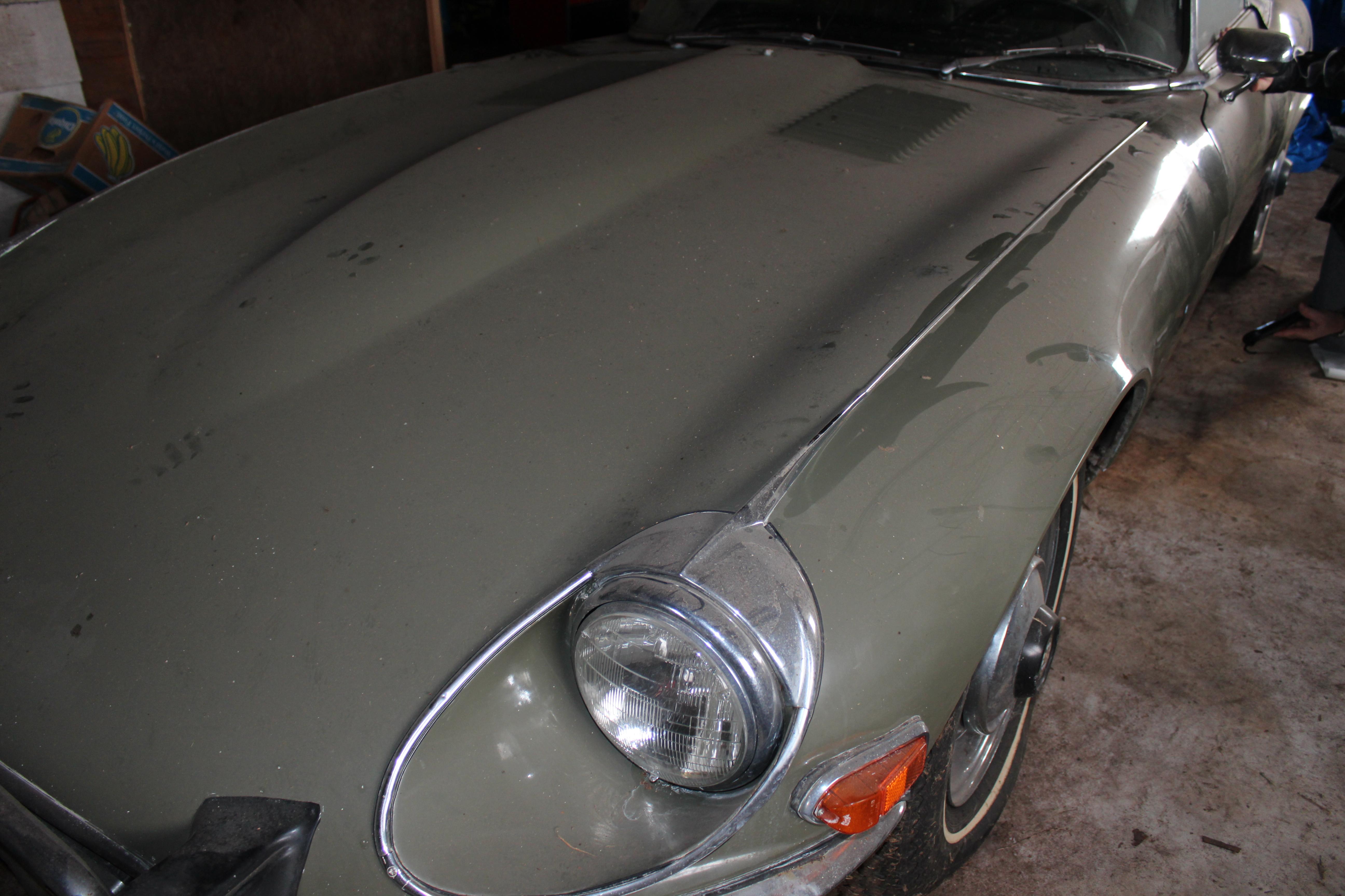 Jaguar E type V12 rdstr