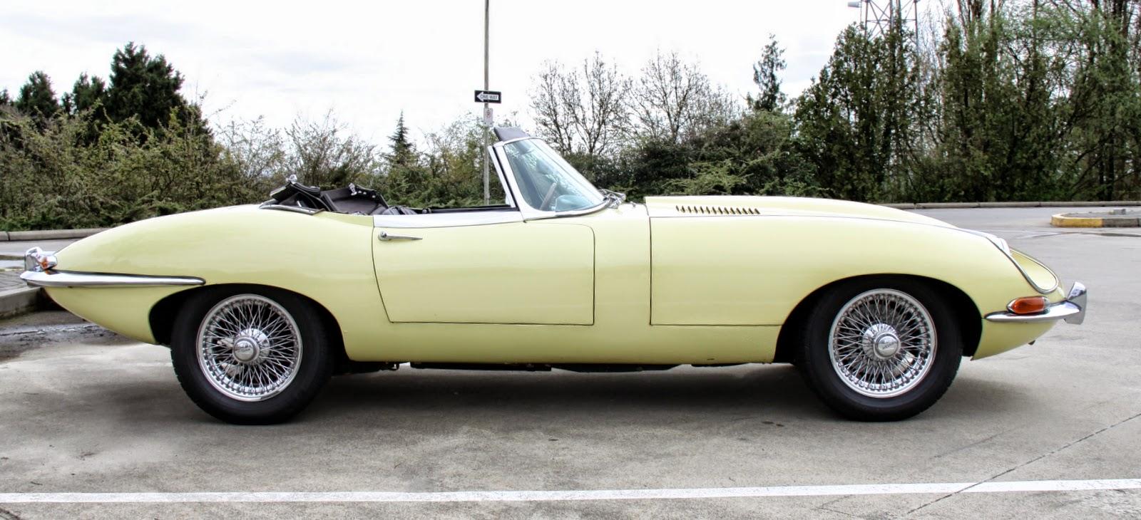 1968 jaguar E 4.2 rdstr series 1.5