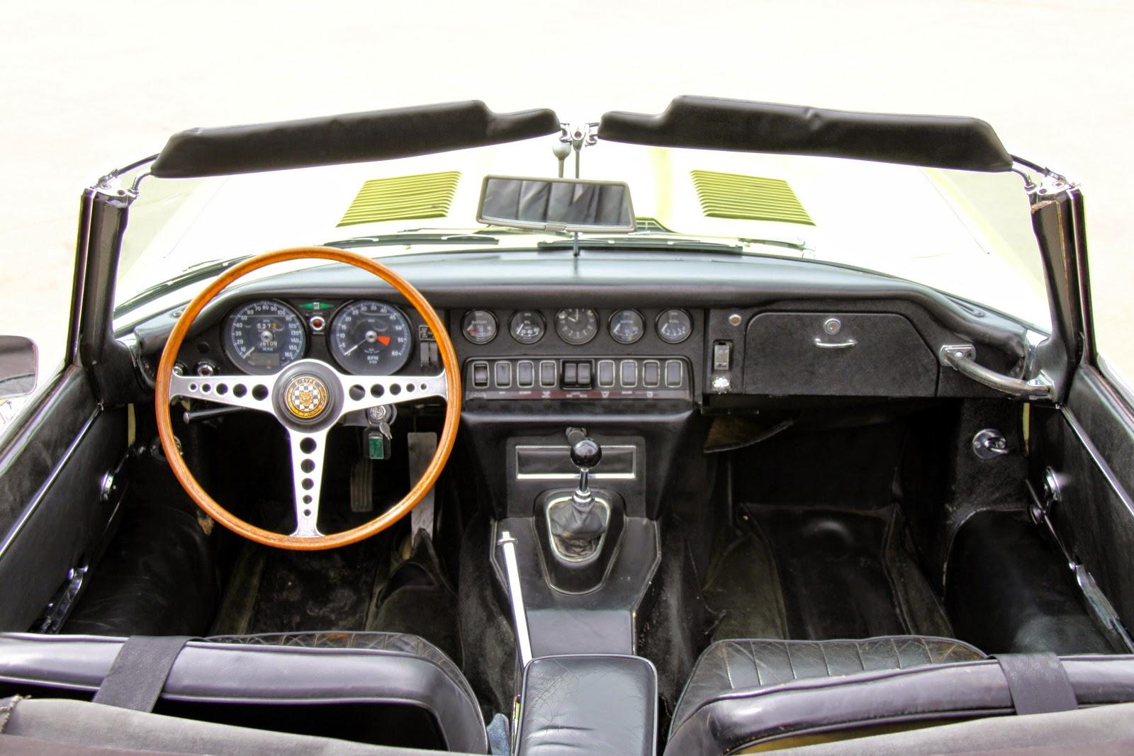 1968 jaguar E rdstr series 1.5